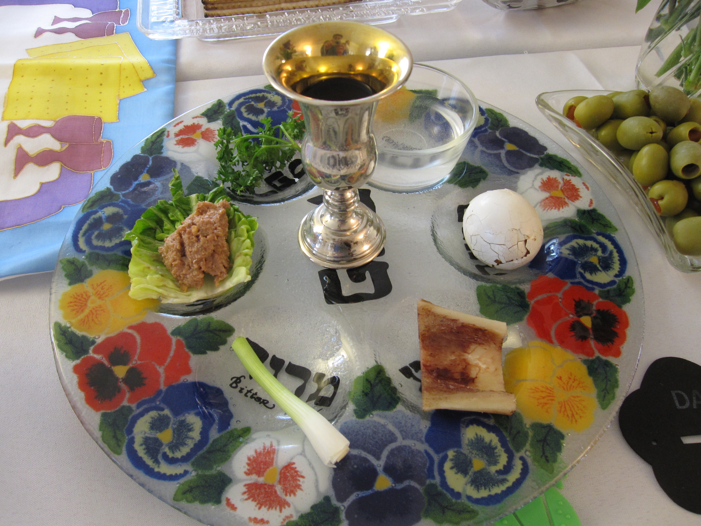 Passover Seder The First Night