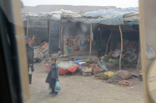 Grocery shopping in Qalat