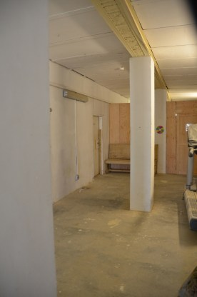 The hallway of my living quarters. My room is on the back, left