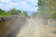 narrow village road