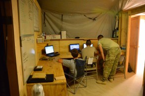 The CA Team work area - the ADT will share this work space with the CA