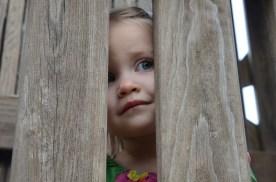 Kennadi peeking