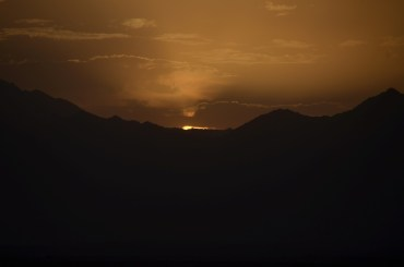 My Al Masaak welcome back sunset