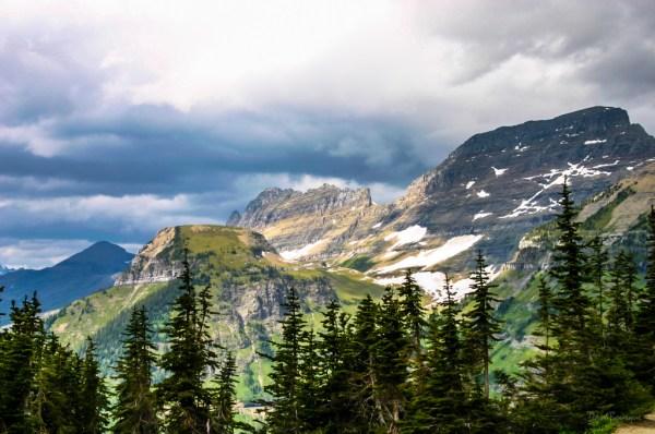 Storm Clouds over Logan Pass