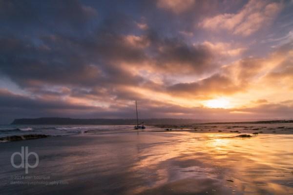 Coronado Sunset landscape photo by Dan Bourque