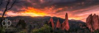 Heavens Rolled Back landscape photo of Garden of the Gods by Dan Bourque