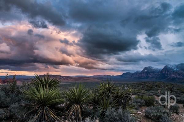 High Desert Sunset landscape photo by Dan Bourque