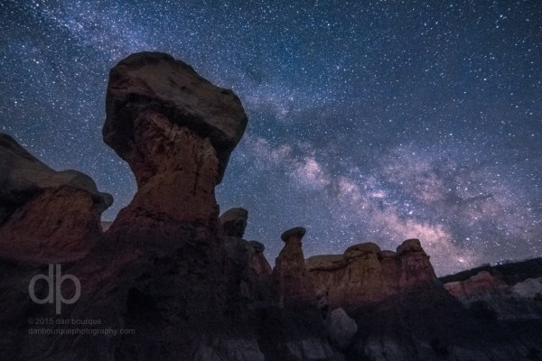 Mighty Hammer Milky Way photo by Dan Bourque
