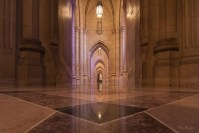 Passageways of Marble and Stone photo of National Cathedral Washington DC by Dan Bourque