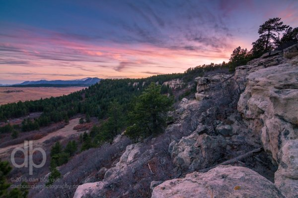 Spruce Mountain Sunset landscape photo by Dan Bourque