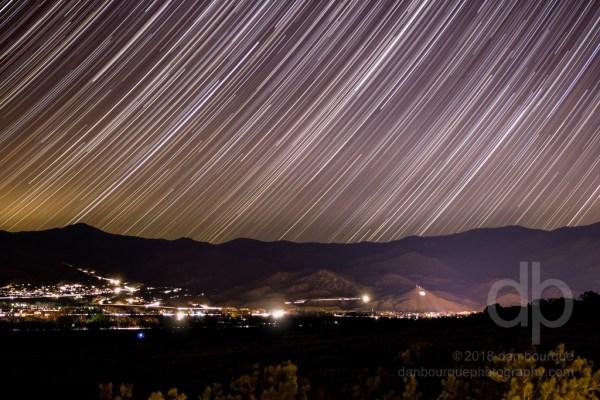 Stars over Salida landscape photo by Dan Bourque