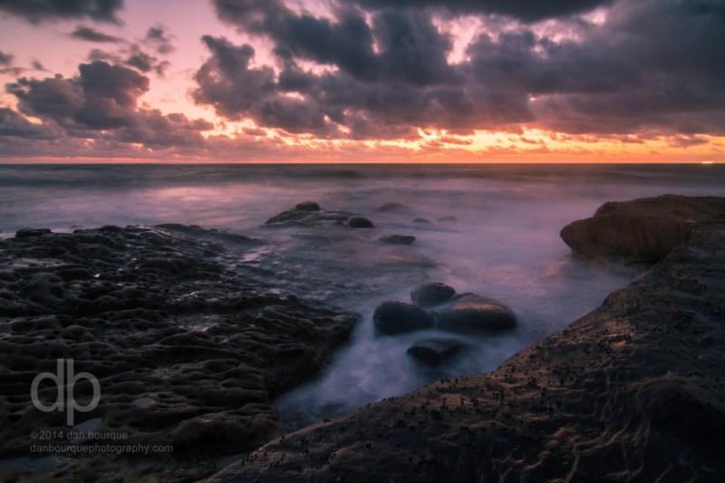 Sunset Surf Surreal landscape photo by Dan Bourque