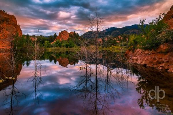 Vibrant Reflections landscape photo by Dan Bourque