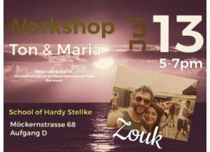 Zouk-Workshop with Ton & Maria @ Cumbancha