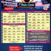 BAILA COSTÃO 2013 - PROGRAMAÇÃO FINAL E DEFINITIVA!!!!