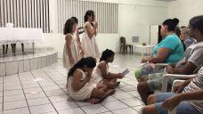Apresentação do Grupo Espírita de Dança ArtPaz (Parnamirim/RN) no dia 25/04/2017. Local: Grupo Espírita Irmãos Unidos (GEIU), Natal/RN