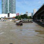 タイ チャオプラヤー川 船着き場
