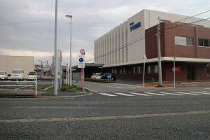 国道34号線轟木宿へ
