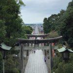 宮地嶽神社から在自山