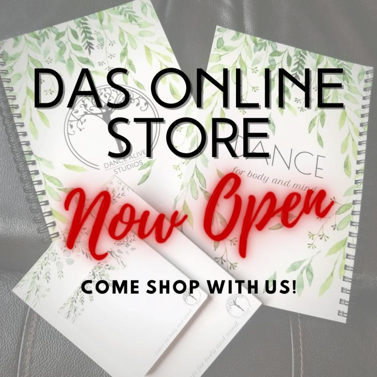 DAS Online Store - click to explore