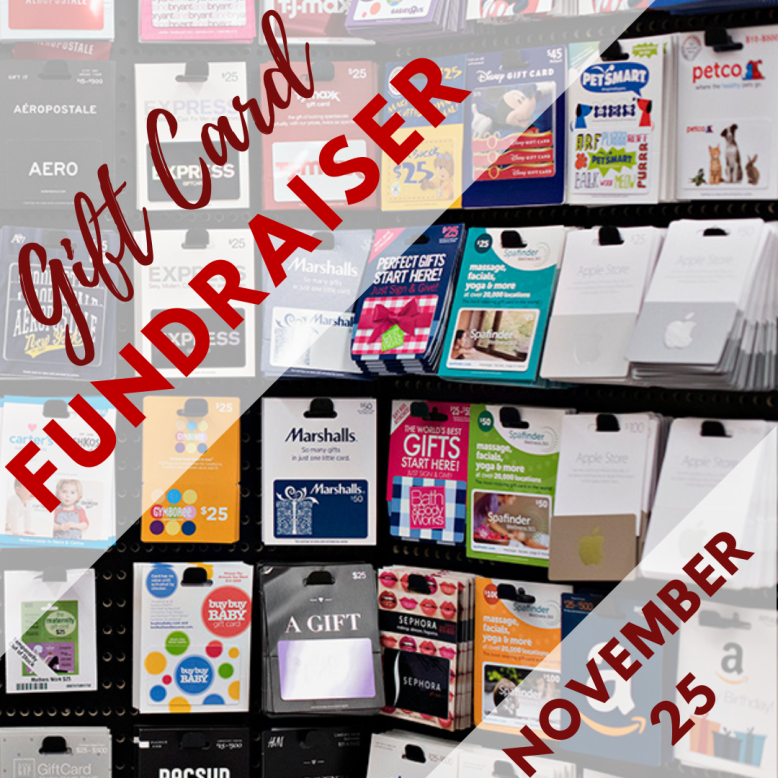 Gift Card Fundraiser - Click to Order