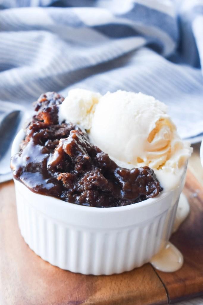 Crock Pot Chocolate Cobbler