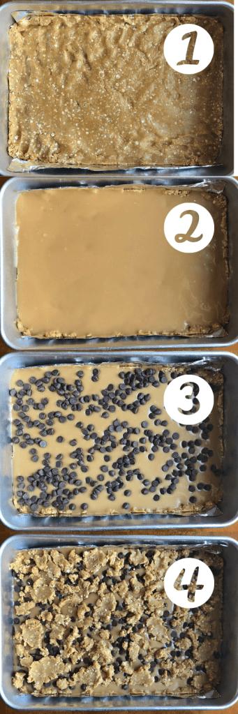 How to make Chocolate Peanut Butter Oatmeal Bars