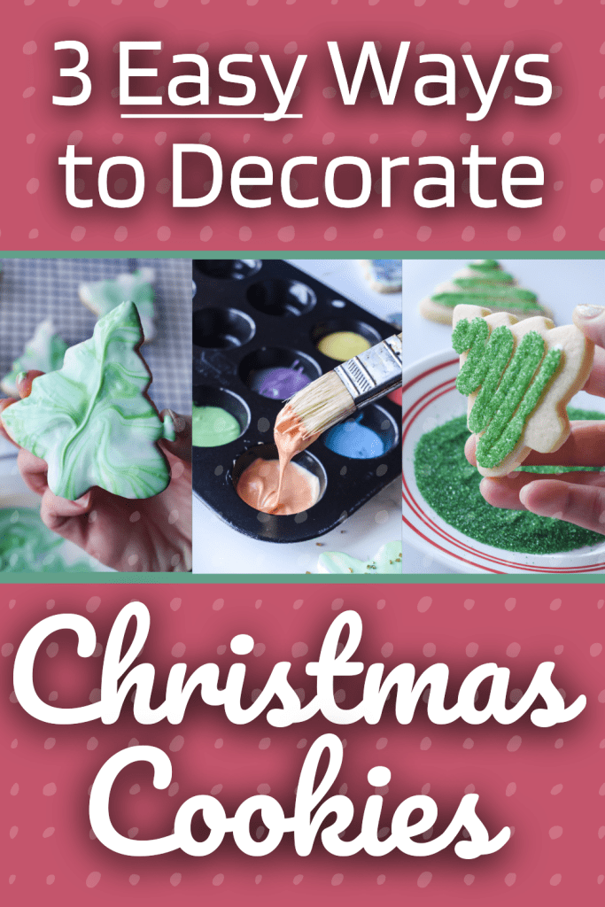 3 easy ways to decorate cookies
