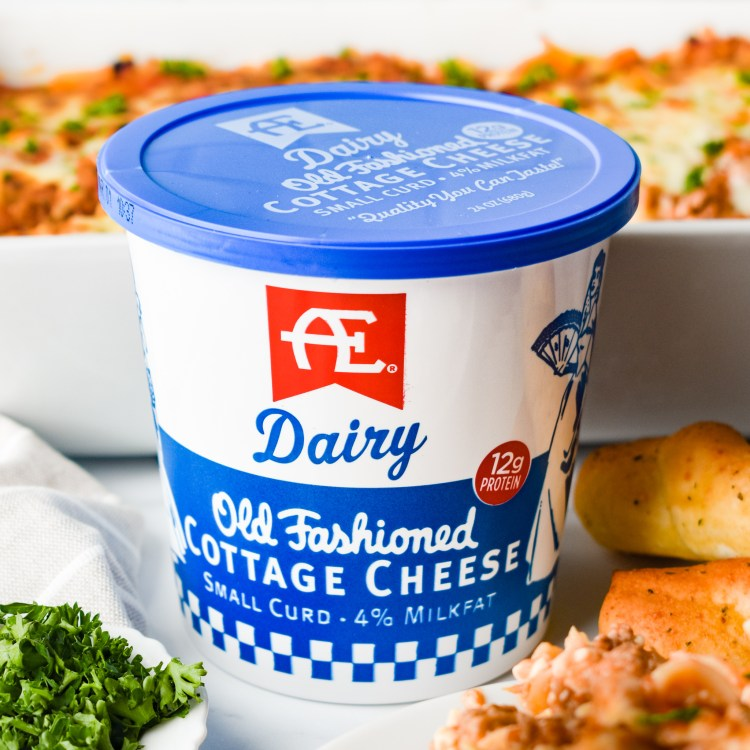Container of Cottage Cheese