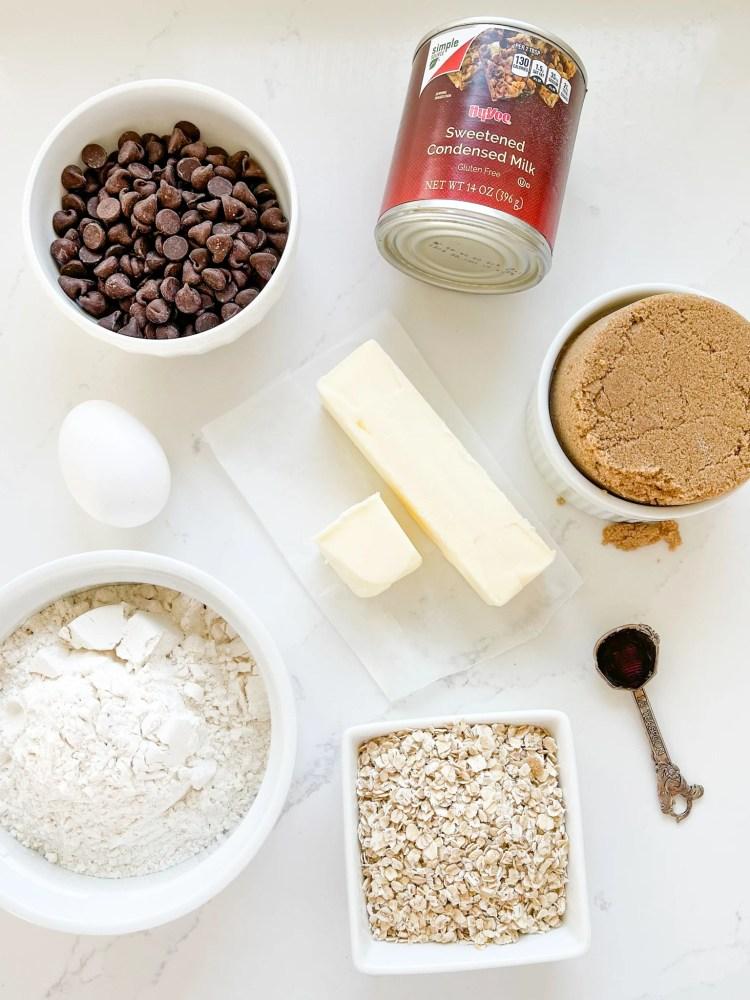 chocolate revel bars ingredients