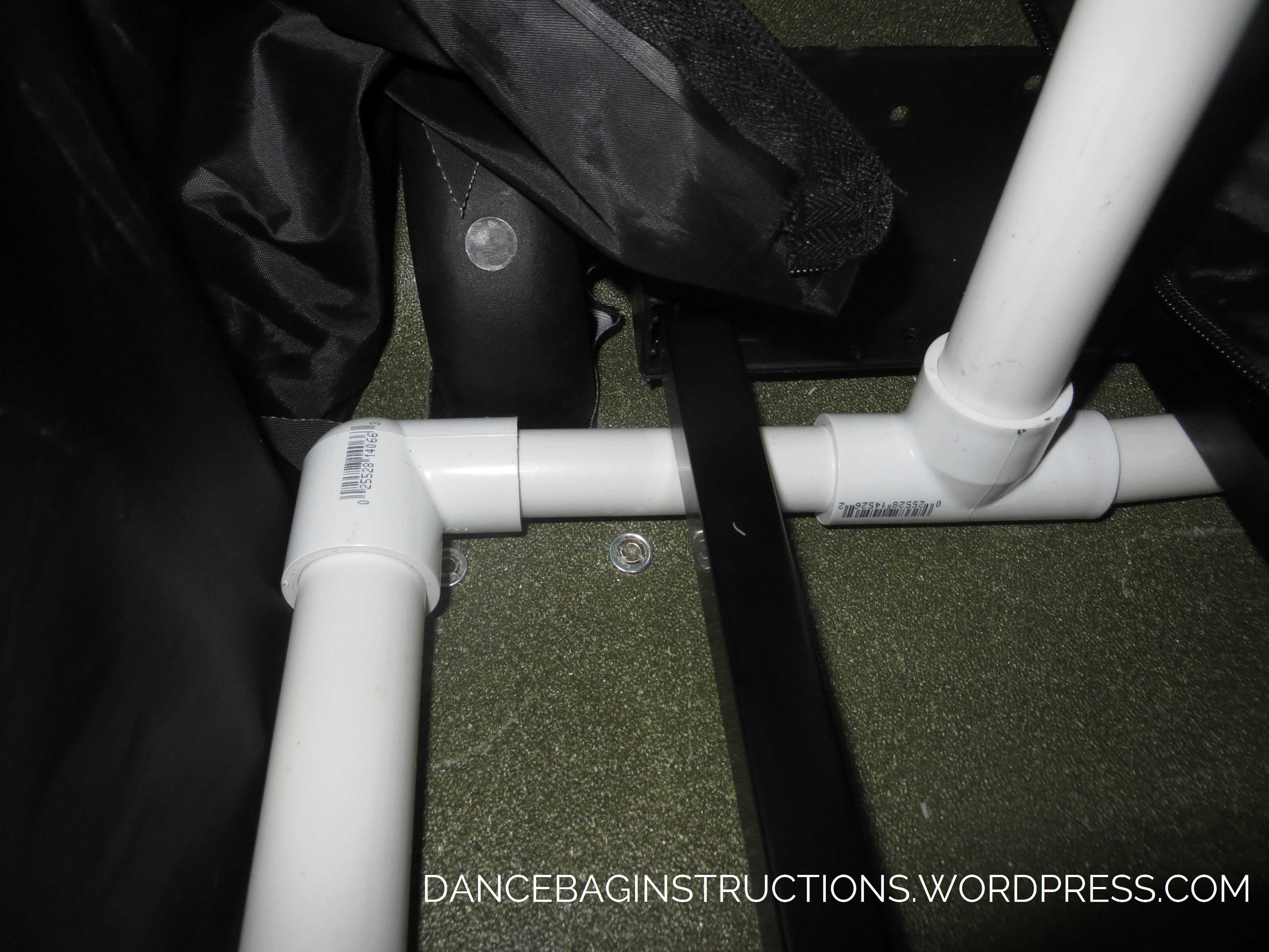 own rolling dance bag with garment rack