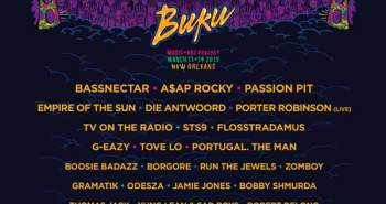 list of artists in the line-up