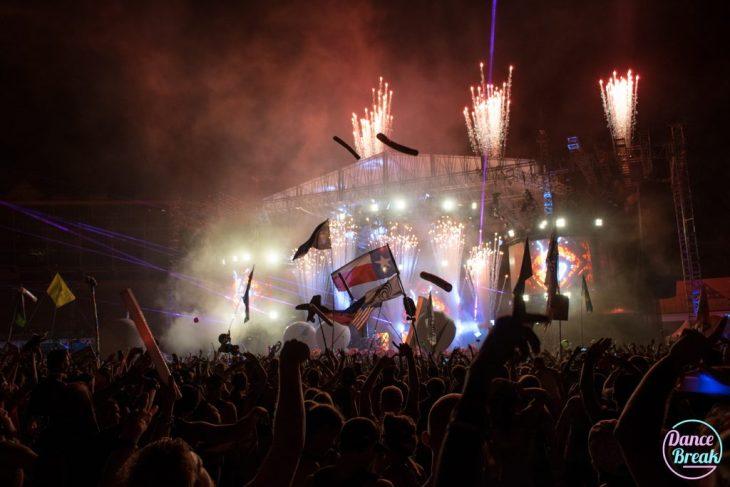 Zeds Dead Fireworks at Imagine Music Festival 2016