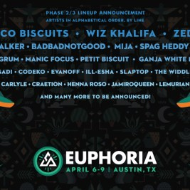 Euphoria 2017 Phase 2 Artists