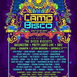Camp Bisco 2017 Lineup