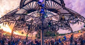 Okeechobee Music Festival Pavilion Palace
