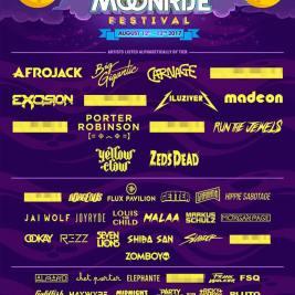 Moonrise Phase 1 Lineup 2017