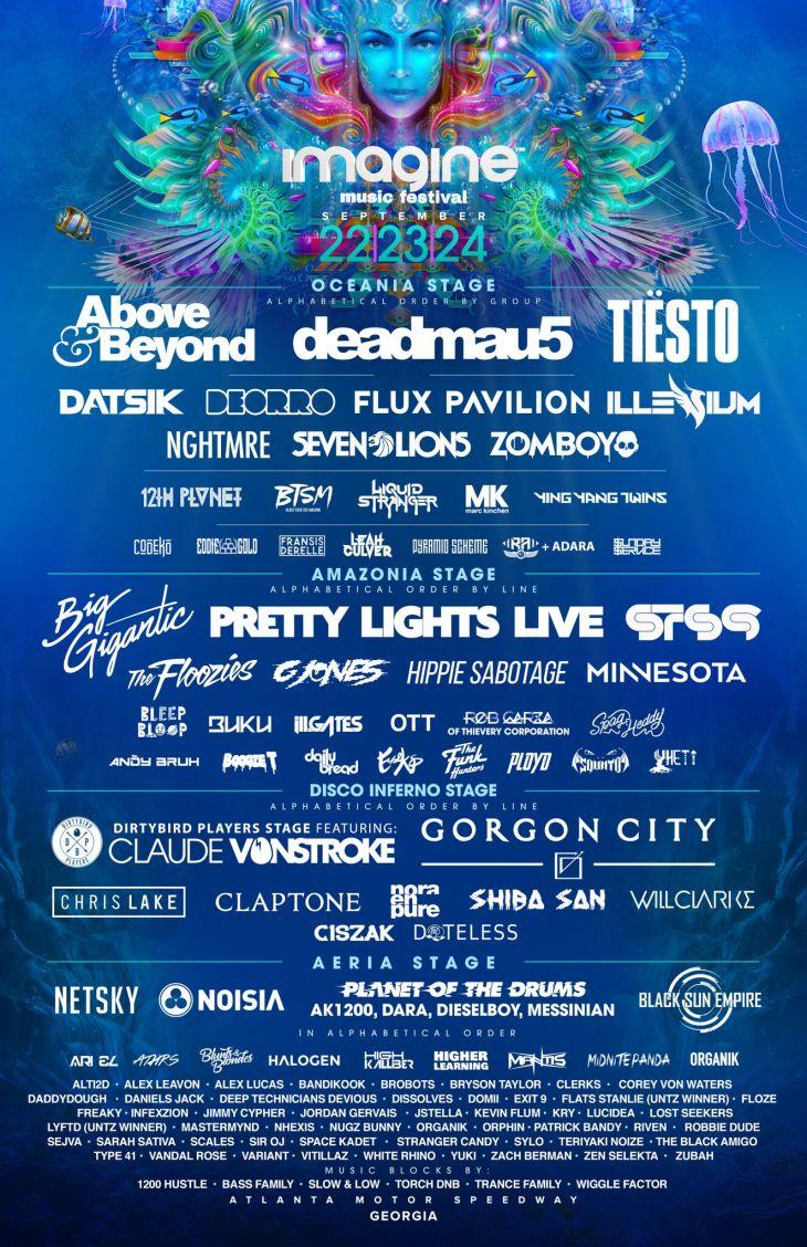 Imagine Music Festival 2020.Imagine Music Festival 2020 Lineup Festival 2020
