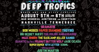 Deep Tropics 2017 Lineup
