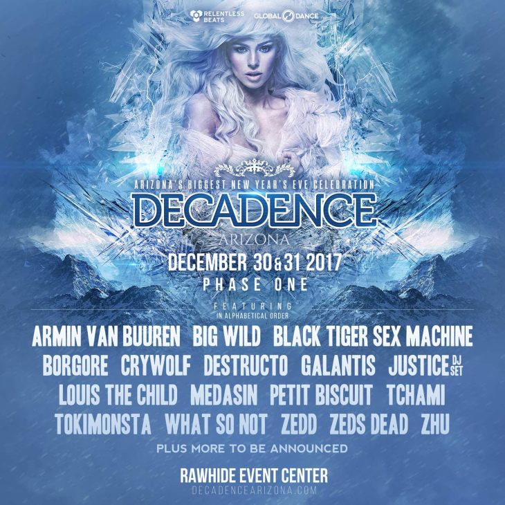 Decadence Arizona 2017