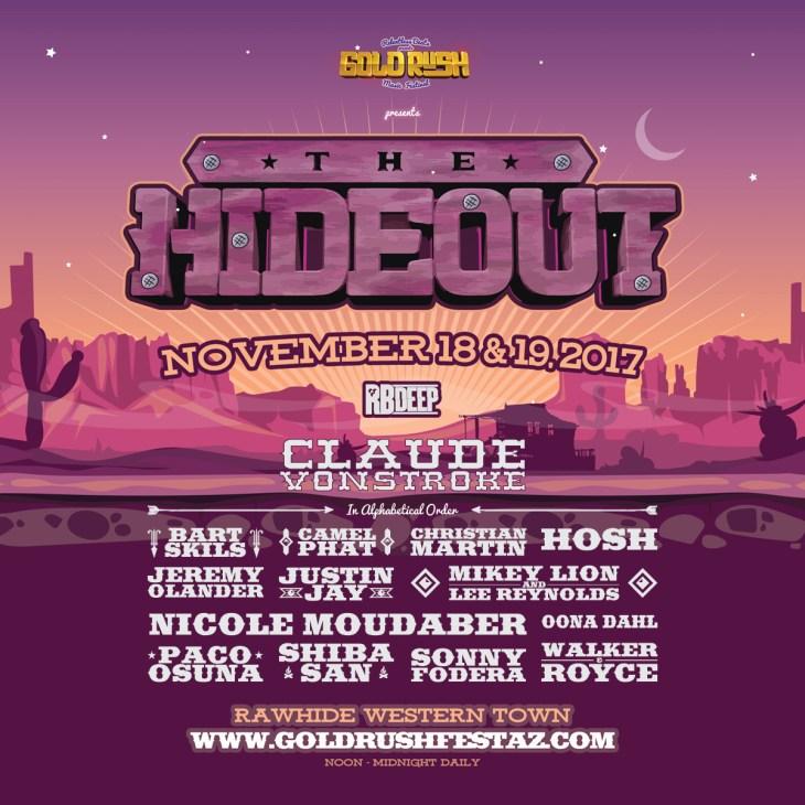 The Hideout Pioneer Peak - Goldrush 2017