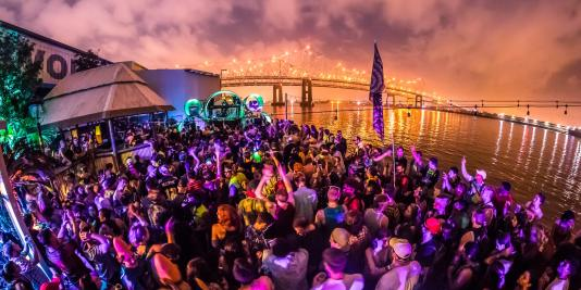 BUKU 2017 Back Alley Stage