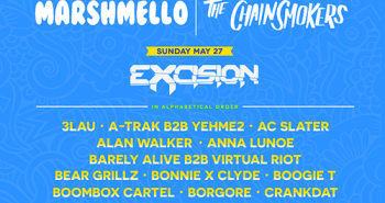 Sunset Music Festival 2018 Lineup