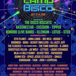 Camp Bisco 2018 Lineup