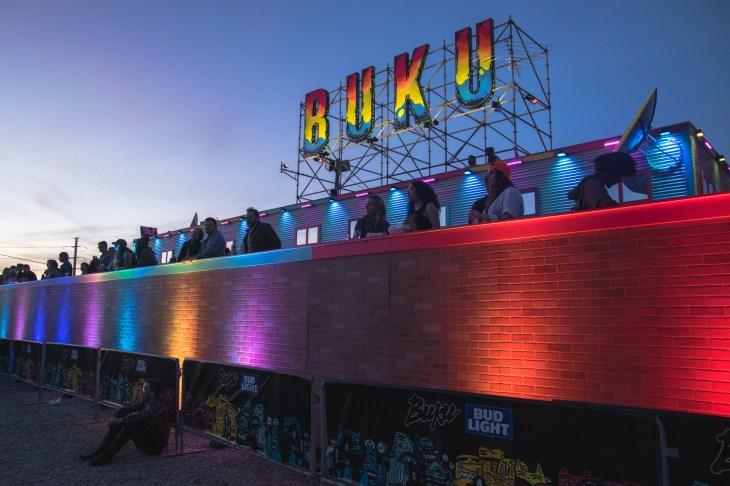 Raven VIP Viewing Area at BUKU 2018