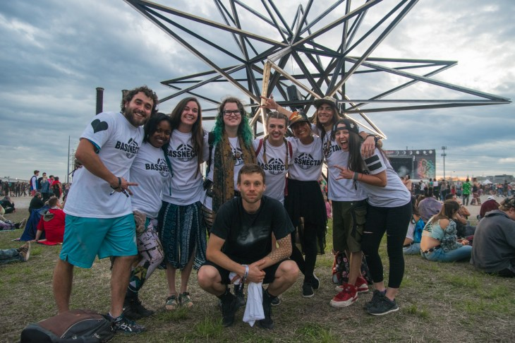 Bassnectar Ambassadors at BUKU 2018