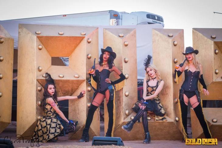 Goldrush Cowgirls 2017