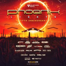 Phoenix Lights 2019 Phase 1 Lineup