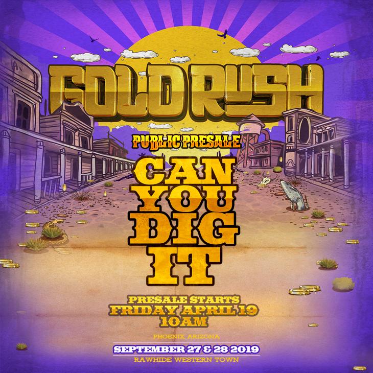 Gold Rush 2019 Pre-Sale