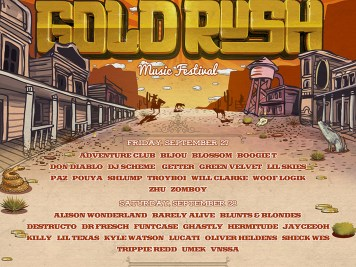 Gold Rush 2019 Single Day Lineup